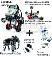 "Комплект ""Гуру робототехники"" LEGO MINDSTORMS Education EV3"